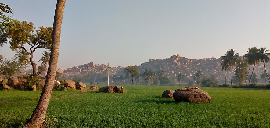 Hampi 3 days Itinerary - Other Side River