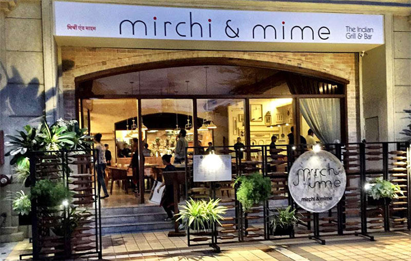 Unique Places to Eat in Mumbai - Mirchi and Mime
