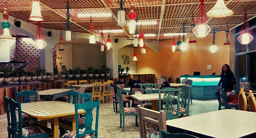 The Potbelly Rooftop Cafe New Delhi - Best Cafes in South Delhi