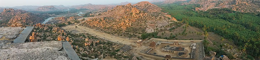 Hampi Itinerary - Hampi Boulders & Ruins