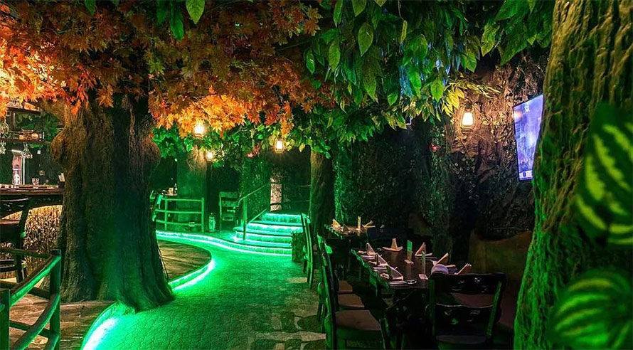 Unique Places to Eat in Mumbai - Rainforest Restobar