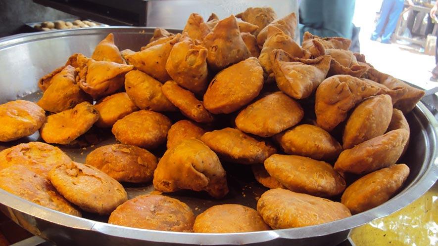 Street Food in Old Delhi - JB Kachori wala Delhi