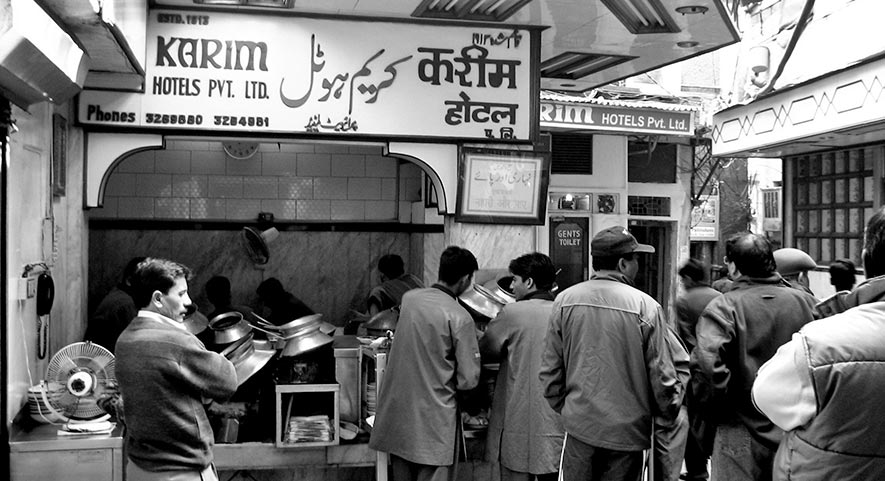 Old Delhi Street Food - Karim's Old-Delhi