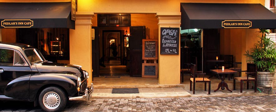 Restaurants in Galle - Pedlar's Inn Cafe