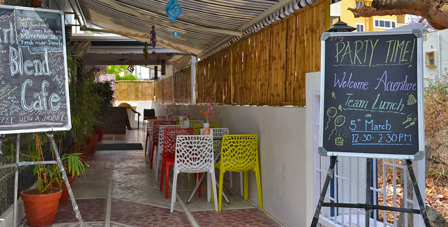 Cafes in Bangalore - Art Blend Cafe