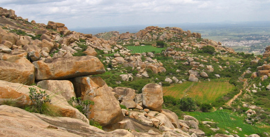 Hikes near Bangalore - Anthargange Trek