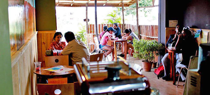 Cafes in Bangalore - Hill Station Cafe