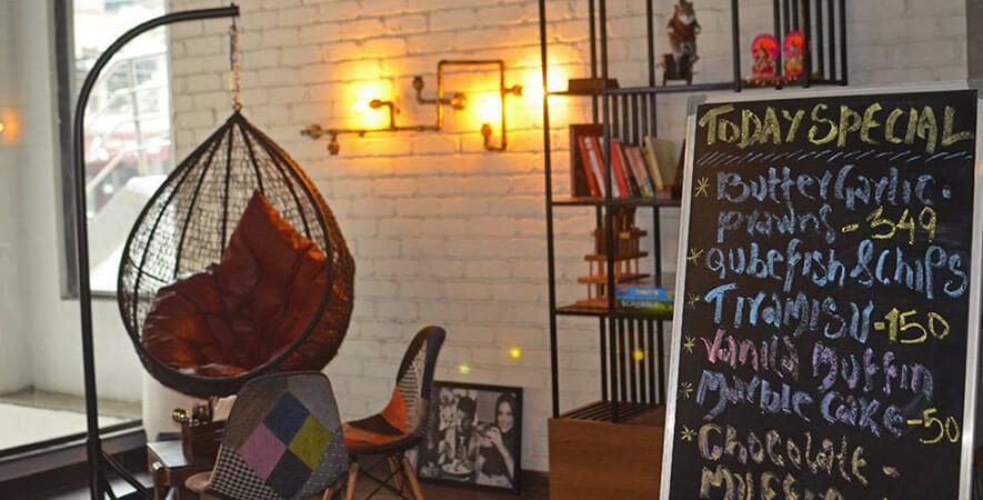 Bangalore Cafes - Qube Cafe