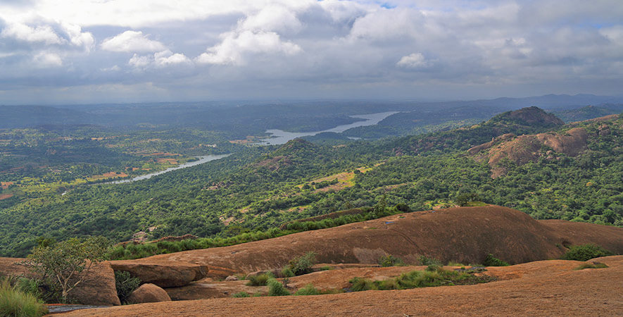 Hikes near Bangalore - Savandurga hike Bangalore