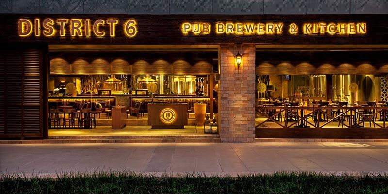 District 6 Pub and Brewery - Best Microbreweries in Bangalore