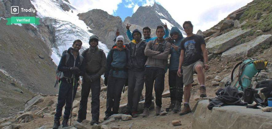 Chandertal Trek over Hampta Pass 2018