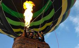 Hot Air Balloon In Rishikesh