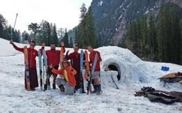 Manali Igloo Affair-1 Night Adventure