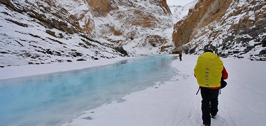 Zanskar Chadar Trek,  Zanskar Canyon