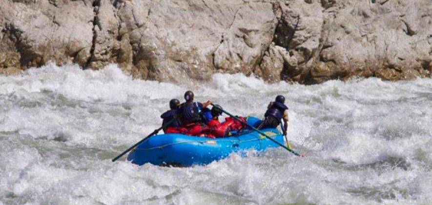 The Kali-Sarda River Rafting Expedition