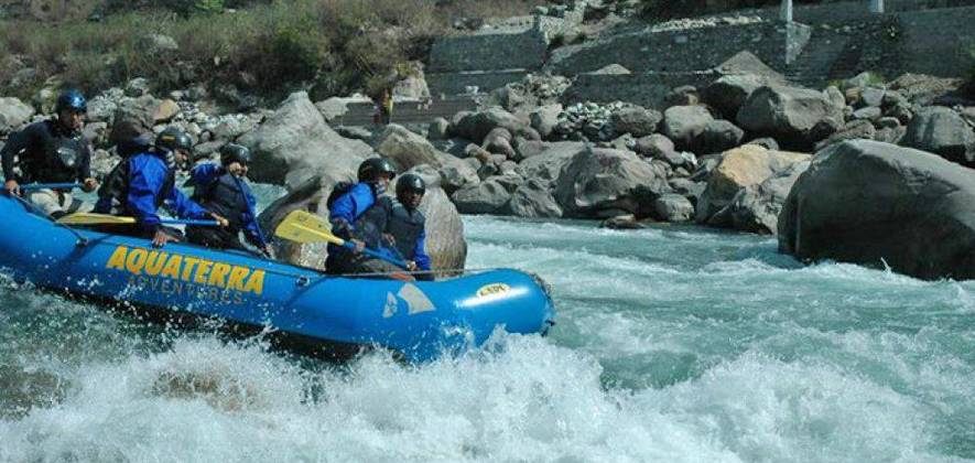 The Upper Alaknanda River Rafting Expedition