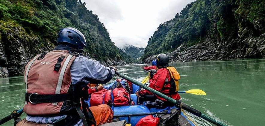 Great Brahmaputra Descent Siang River Expedition
