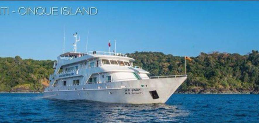 Scuba Diving on Liveaboard Cruise in Andamans
