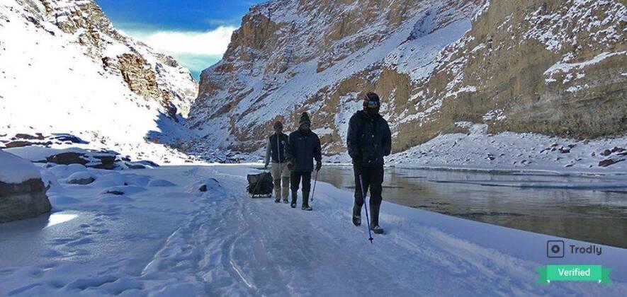 Chadar Trek 2018 - 9 Days