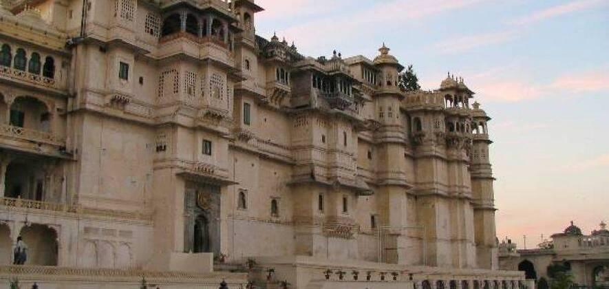 Udaipur-Kumbhalgarh Ranakpur-Chittorgarh Fort-Eklingji -Nathdwara- Haldighati 5Days - 4Nights