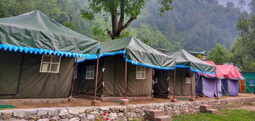 Riverside Camping - Tirthan Valley