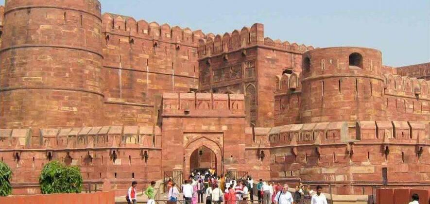 Same Day Agra Tour with Train Ride