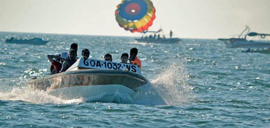 Water Sports Package at Calangute Beach
