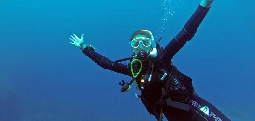 Scuba Diving at Grande Island Goa - Intro