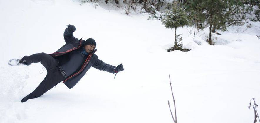 Snow Camping and Photography Hiking in Manali