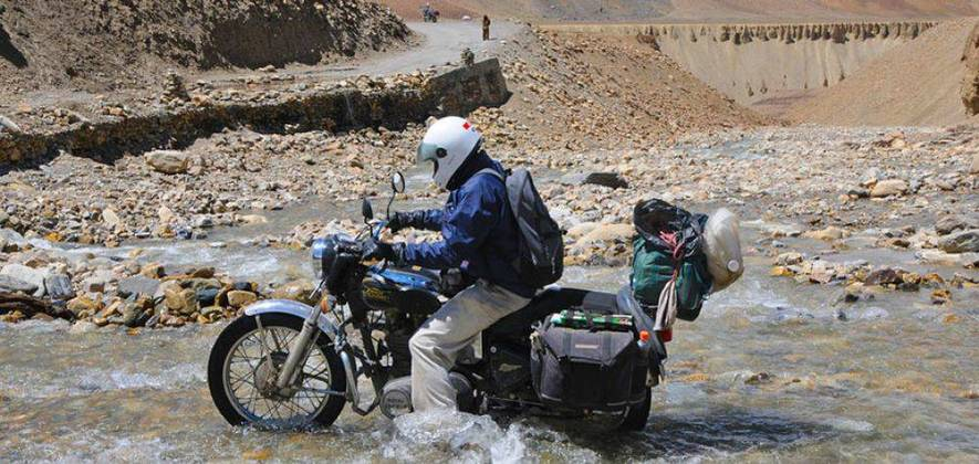 Ladakh Motor Bike Tour 2017 - 10 Days Ex. Manali