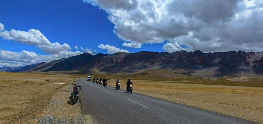 Manali-Leh-Manali Bike Tour 2018