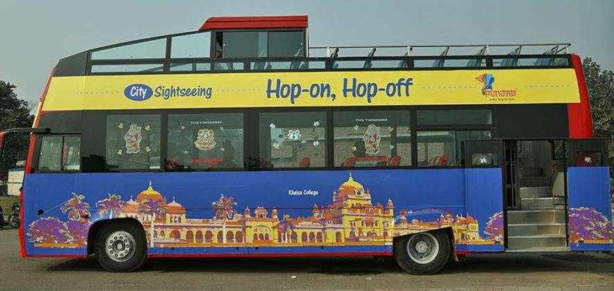 Amritsar Sightseeing Tour by Double Decker Bus
