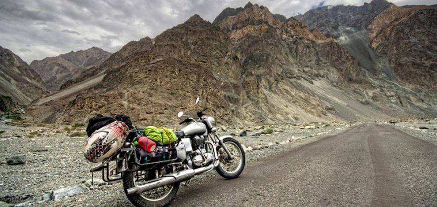 Manali-Leh-Srinagar - Bike Tour 2017