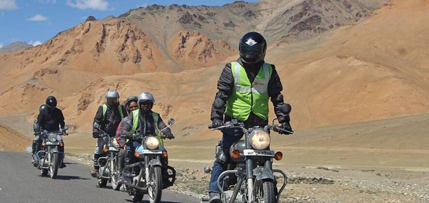 Manali-Leh-Srinagar Bike Tour 2018