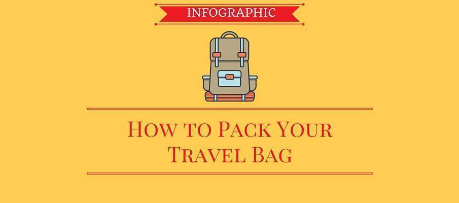 [Infographic] How to Pack Your Travel Bag