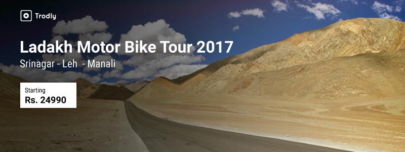Trodly-Leh Ladakh tour 2017-Srinagar-Leh