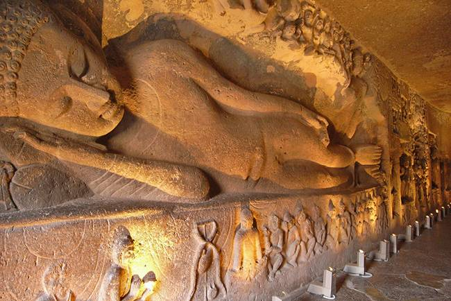 Buddhists Holy Places in India: Ajanta Ellora caves