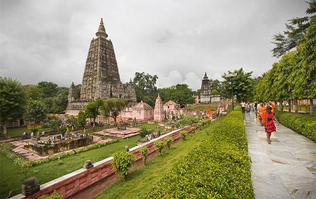 Mahabodhi temple, Bhodgaya