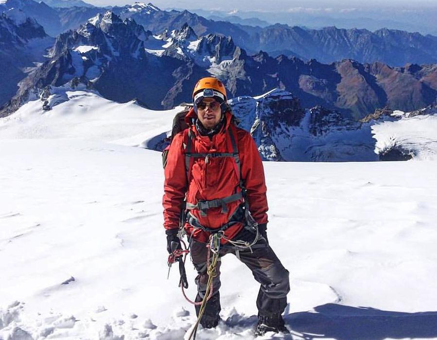 Explorati Rajat Thakur On a Himalayan Expedition near Manali Himachal