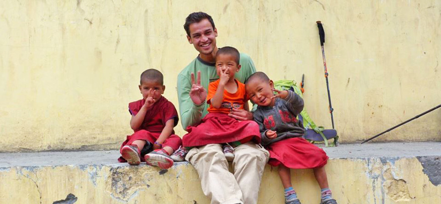 Explorati Rajat In Spiti Himachal With Kid Monks