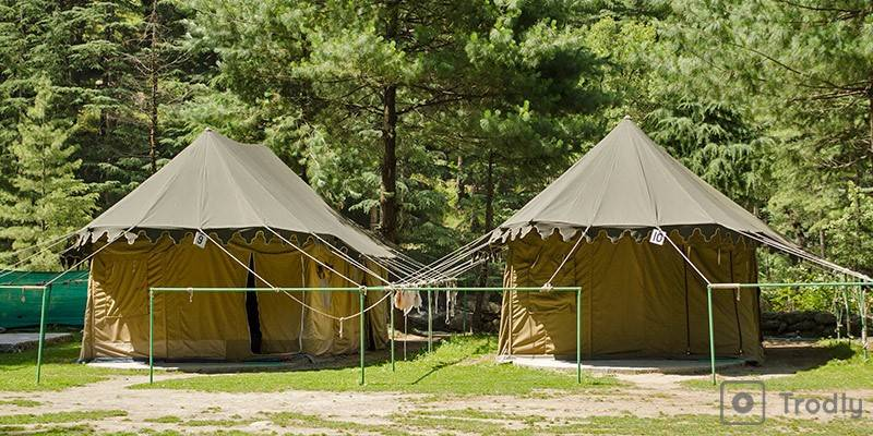 Kasol, Parvati Valley - Camping in Kasol