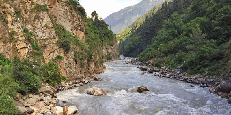 Kasol in Parvati Valley - Parvati River