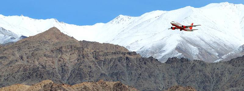 Ultimate guide to Ladakh - Flight to Leh