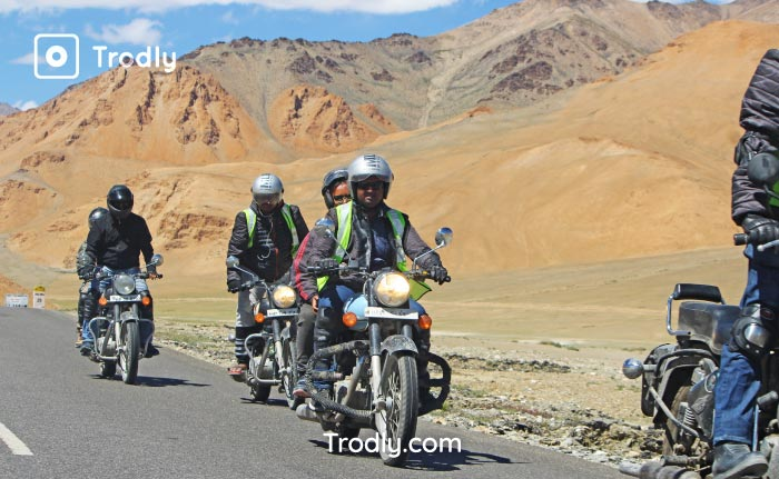 Manali leh highway Trodly group
