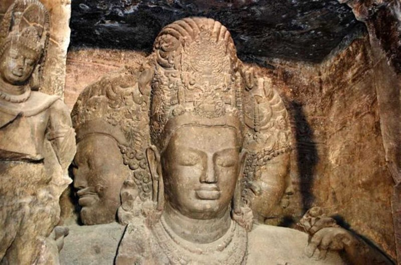 Caves near Mumbai - Elephanta Caves