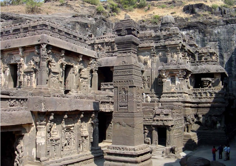 Carved Caves around Mumbai - Ellora Caves