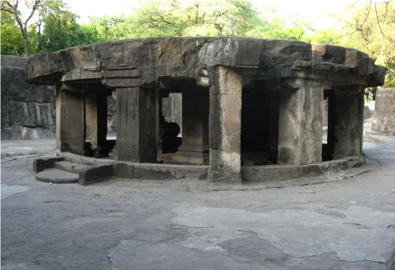 Carved Caves around Mumbai - Pataleshwar Caves