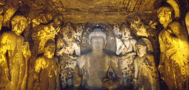 Carved Caves around Mumbai - Ajanta Caves