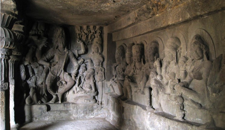 Carved Caves around Mumbai - Aurangabad Caves