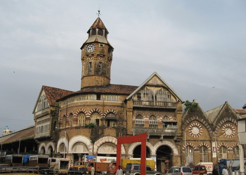 Colonial Architecture in Mumbai - Crawford Market